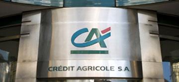 Logo client Crédit Agricole