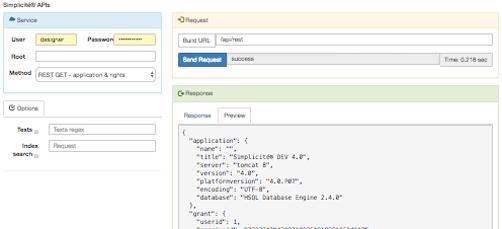 Tester d'API intégré à la plateforme